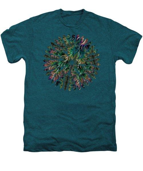 Iridescent Feathers Men's Premium T-Shirt