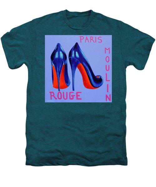 Irish Burlesque Shoes Men's Premium T-Shirt by John  Nolan
