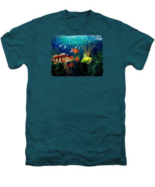 Joy To The Fishes  Men's Premium T-Shirt