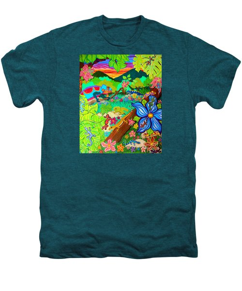 Leapin Lizards Men's Premium T-Shirt