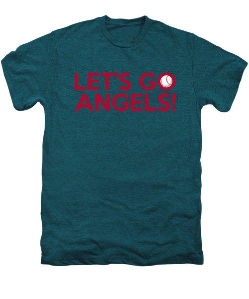 Let's Go Angels Men's Premium T-Shirt by Florian Rodarte