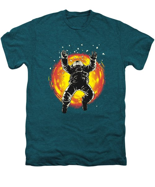 Lost In The Space Men's Premium T-Shirt by Carbine