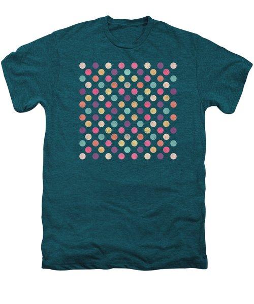Lovely Polka Dots  Men's Premium T-Shirt by Amir Faysal