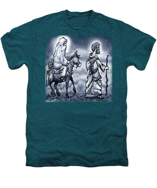 Mary And Joseph  Men's Premium T-Shirt