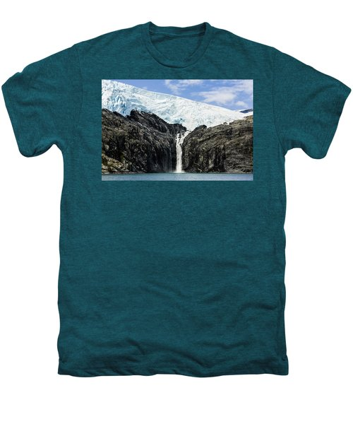 Meltwater From The Northland Glacier Men's Premium T-Shirt by Ray Bulson