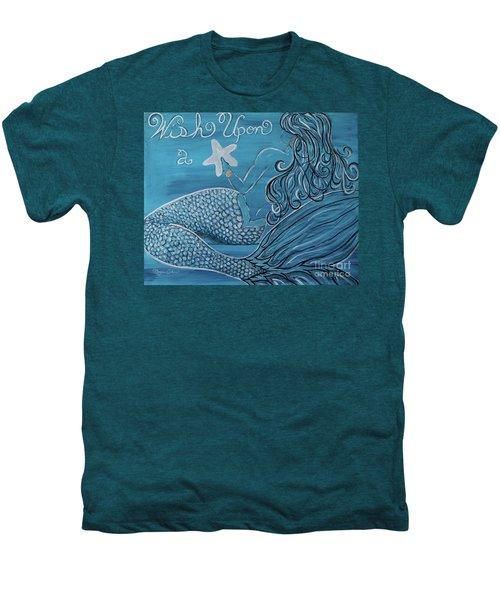 Mermaid- Wish Upon A Starfish Men's Premium T-Shirt