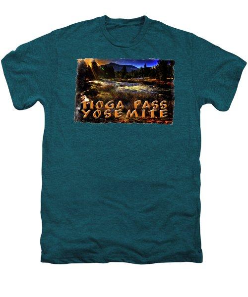 Mine Creek Between Lakes Ellery And Tioga Men's Premium T-Shirt