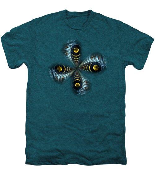 Moon Cross Men's Premium T-Shirt by Anastasiya Malakhova