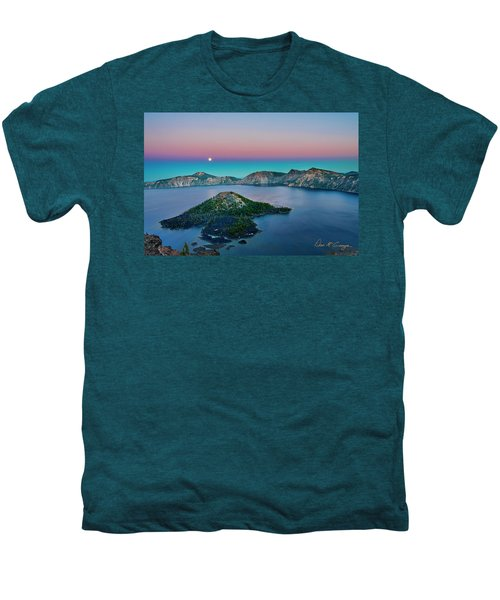 Moon Over Wizard Island Men's Premium T-Shirt