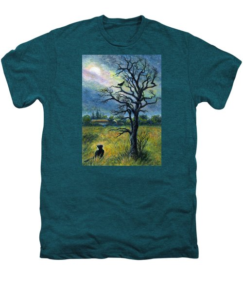 Moonlight Prowl Men's Premium T-Shirt
