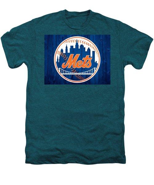 New York Mets Barn Door Men's Premium T-Shirt