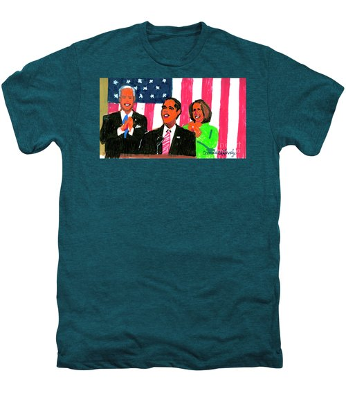 Obama's State Of The Union '10 Men's Premium T-Shirt