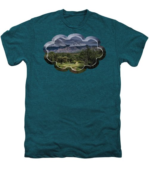 Odyssey Into Clouds Men's Premium T-Shirt by Mark Myhaver