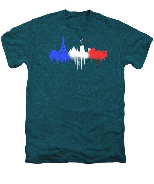 Paris Skyline  Men's Premium T-Shirt