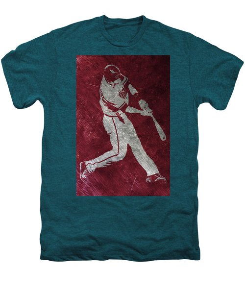 Paul Goldschmidt Arizona Diamondbacks Art Men's Premium T-Shirt by Joe Hamilton