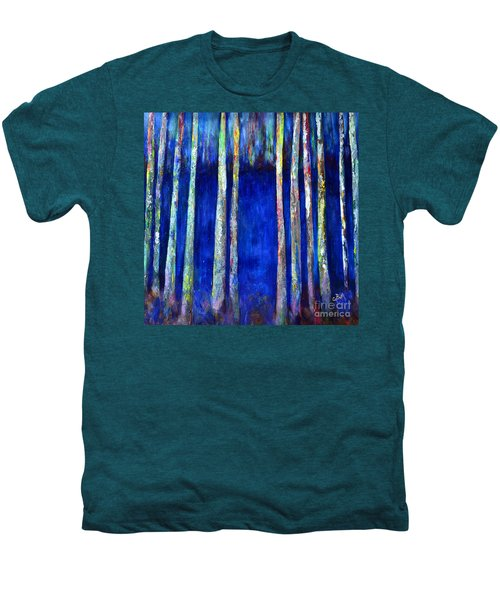 Peeking Through The Trees Men's Premium T-Shirt