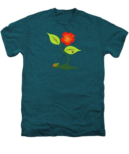 Plant And Flower Men's Premium T-Shirt by Gaspar Avila
