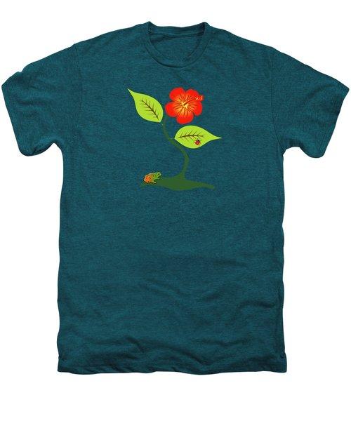 Plant And Flower Men's Premium T-Shirt