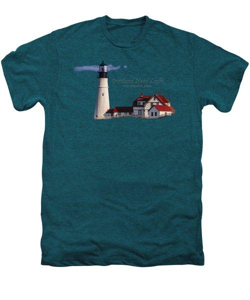 Portland Head Light No. 43 Men's Premium T-Shirt