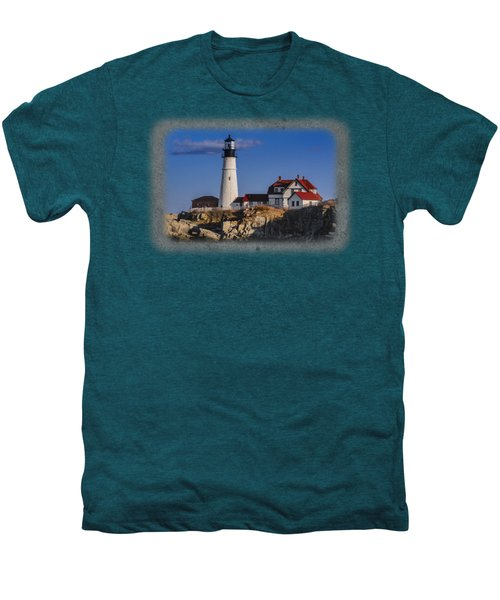 Portland Head Light No. 44 Men's Premium T-Shirt