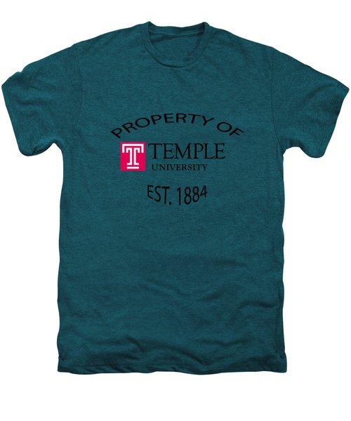 Property Of Temple University Men's Premium T-Shirt by T Shirts R Us -