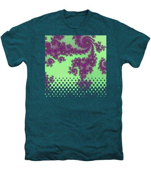 Purple Lace Men's Premium T-Shirt