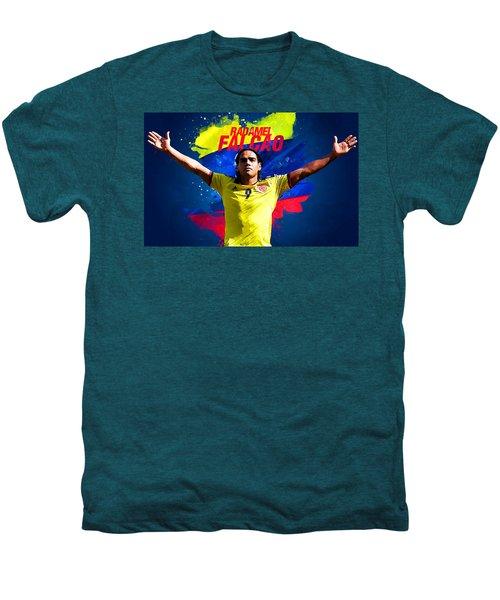 Radamel Falcao Men's Premium T-Shirt by Semih Yurdabak