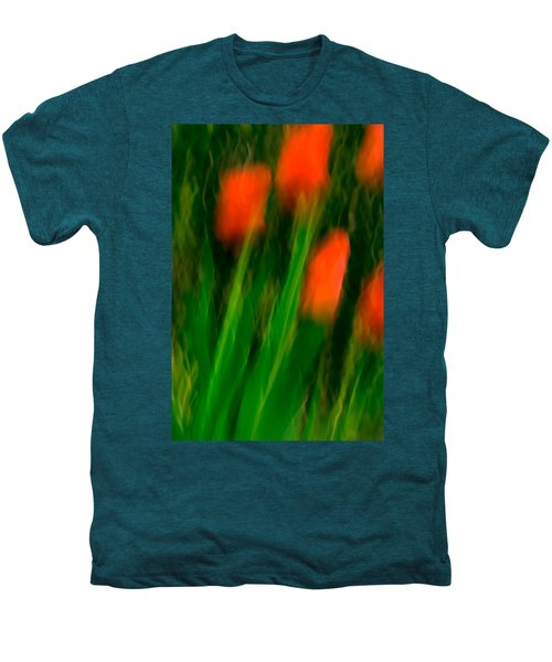 Red Tulips Men's Premium T-Shirt