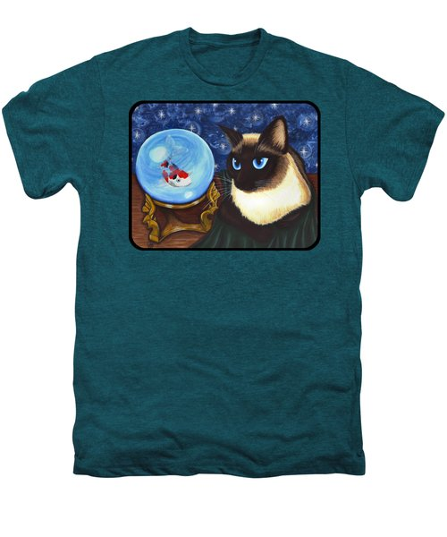 Rue Rue's Fortune - Siamese Cat Koi Men's Premium T-Shirt