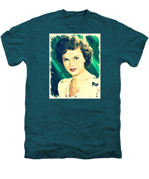 Shirley Temple By John Springfield Men's Premium T-Shirt by John Springfield