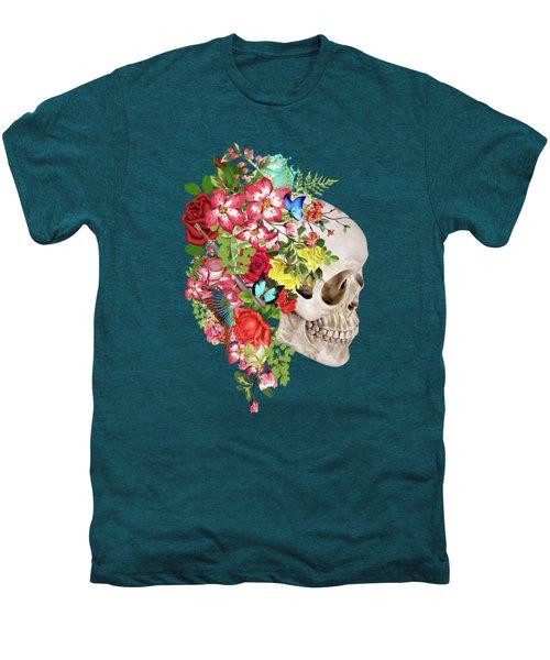 Skull Floral 2 Men's Premium T-Shirt