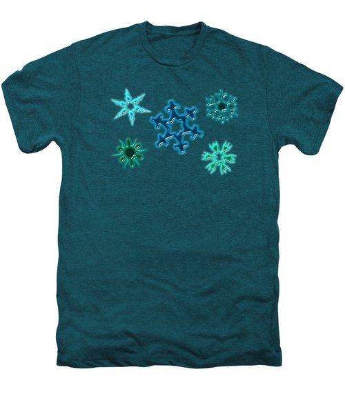 Snowflake Pattern Men's Premium T-Shirt
