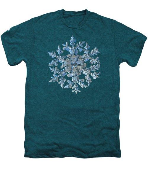 Snowflake Photo - Gardener's Dream Men's Premium T-Shirt