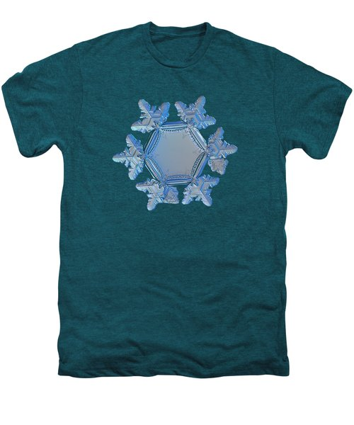 Snowflake Photo - Sunflower Men's Premium T-Shirt