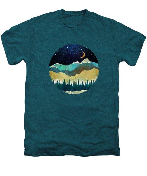 Snowy Night Men's Premium T-Shirt