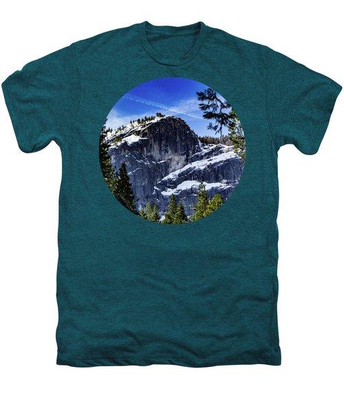 Snowy Sentinel Men's Premium T-Shirt by Adam Morsa
