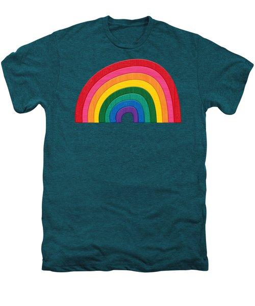 Somewhere Over The Rainbow Men's Premium T-Shirt