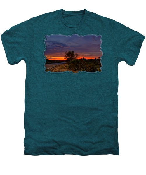 Sonoran Sunset H48 Men's Premium T-Shirt by Mark Myhaver