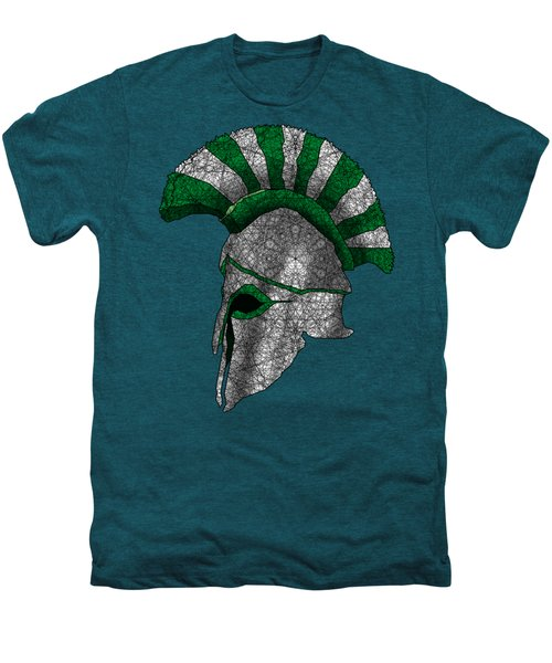 Spartan Helmet Men's Premium T-Shirt by Dusty Conley