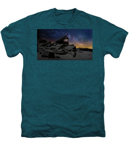 Men's Premium T-Shirt featuring the photograph Star Spangled Banner by Bill Wakeley