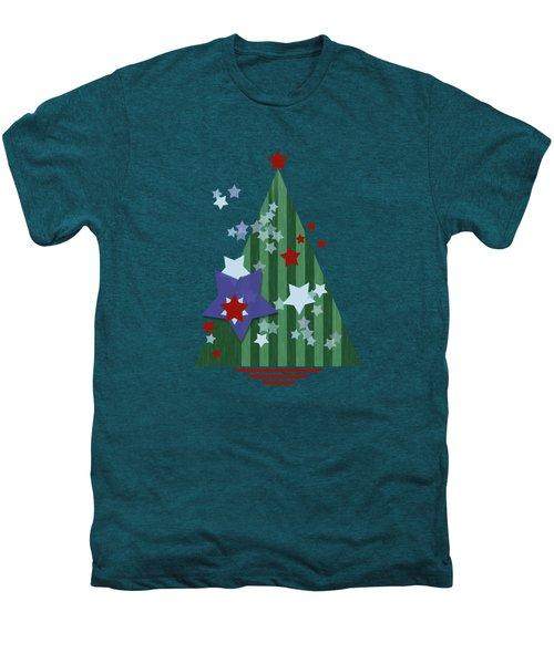 Stars And Stripes - Christmas Edition Men's Premium T-Shirt by AugenWerk Susann Serfezi