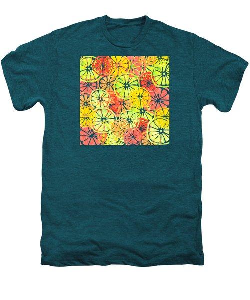 Summer Lemons Men's Premium T-Shirt