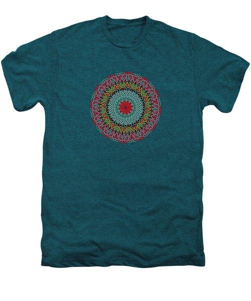 Sunflower Mandala Men's Premium T-Shirt