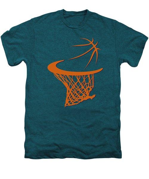 Suns Basketball Hoop Men's Premium T-Shirt by Joe Hamilton