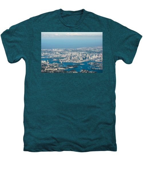 Sydney From The Air Men's Premium T-Shirt by Parker Cunningham