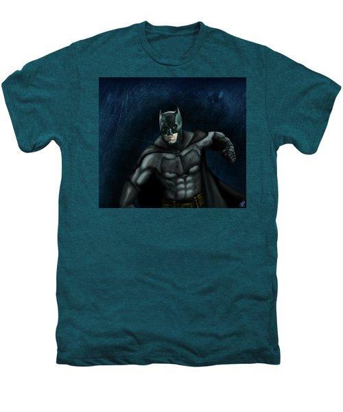The Batman Men's Premium T-Shirt by Vinny John Usuriello