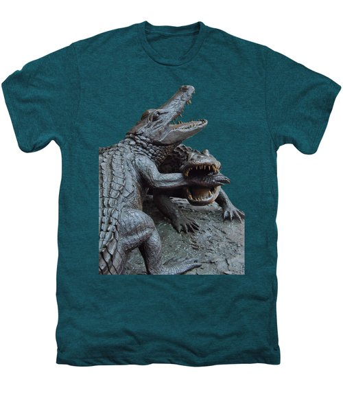 The Chomp Transparent For Customization Men's Premium T-Shirt by D Hackett