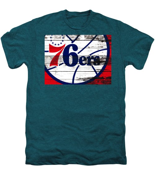 The Philadelphia 76ers 3e       Men's Premium T-Shirt