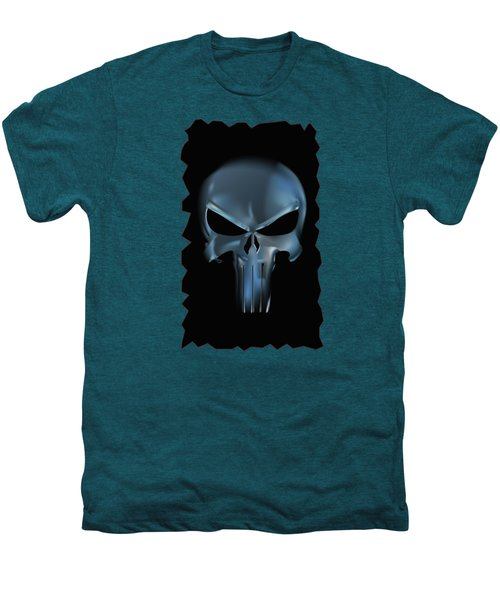 The Punisher Scary Face Men's Premium T-Shirt