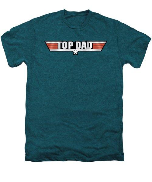Top Dad Callsign Men's Premium T-Shirt